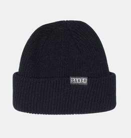 Baker Skateboards Brand Logo Off Black Cuff Beanie