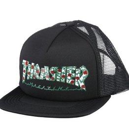 Thrasher Mag. Roses Mesh Hat