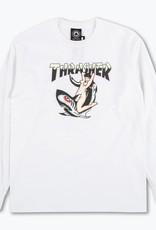 Thrasher Mag. Thrasher Tattoo White L/S