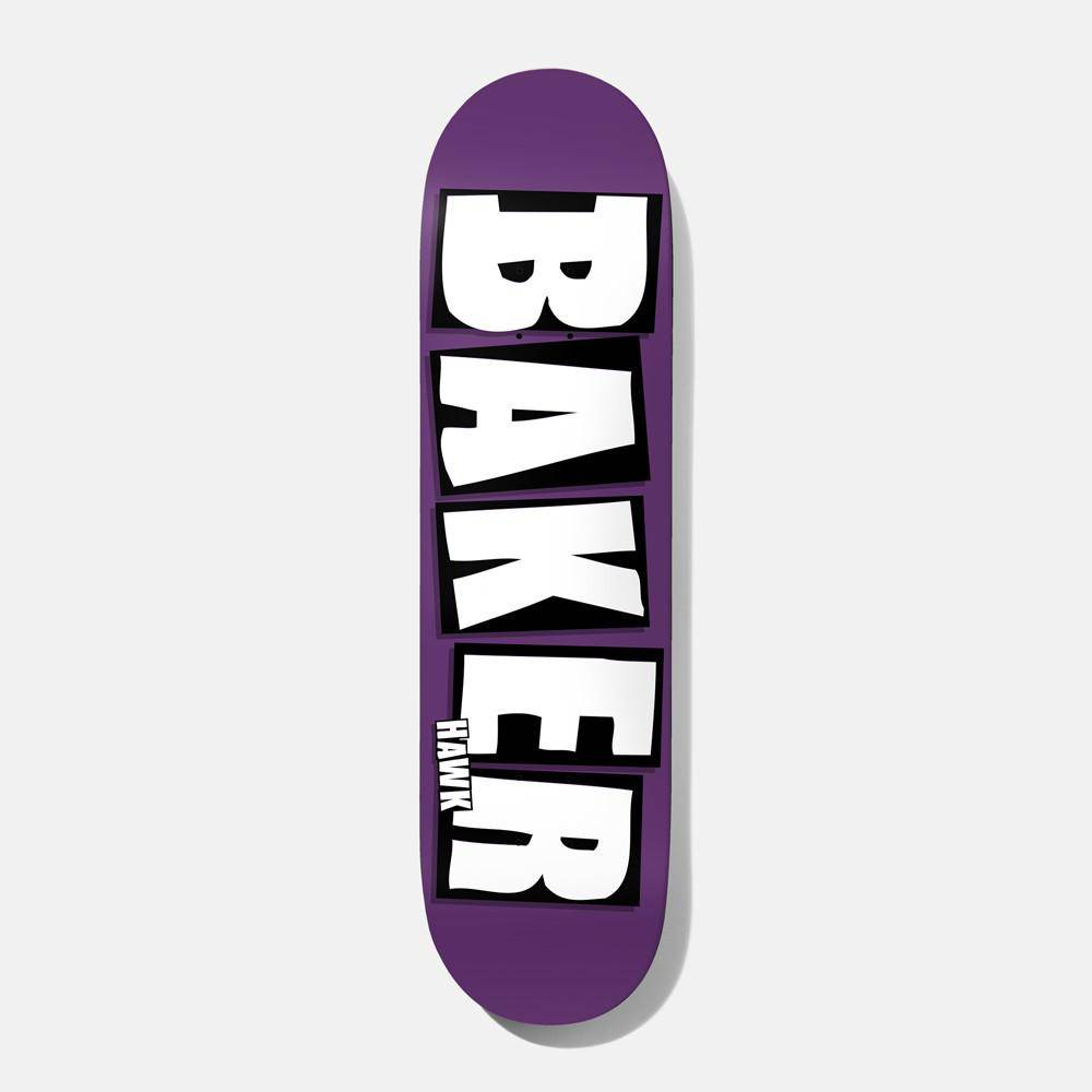 Baker Skateboards Brand Name Plum RH 7.875""
