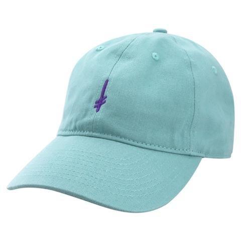 Deathwish Skateboards Gang Logo Teal Dad Hat