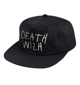 Deathwish Skateboards New York Minute Snapback Black
