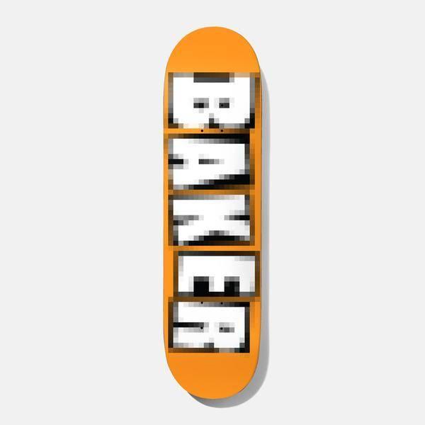 """Baker Skateboards Brand Name Pixelated BH 8.475"""""""