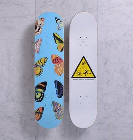 Quasi Skateboards Butterfly (blue) 8.0