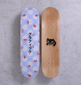 Quasi Skateboards Graphic (Lavender) 8.375