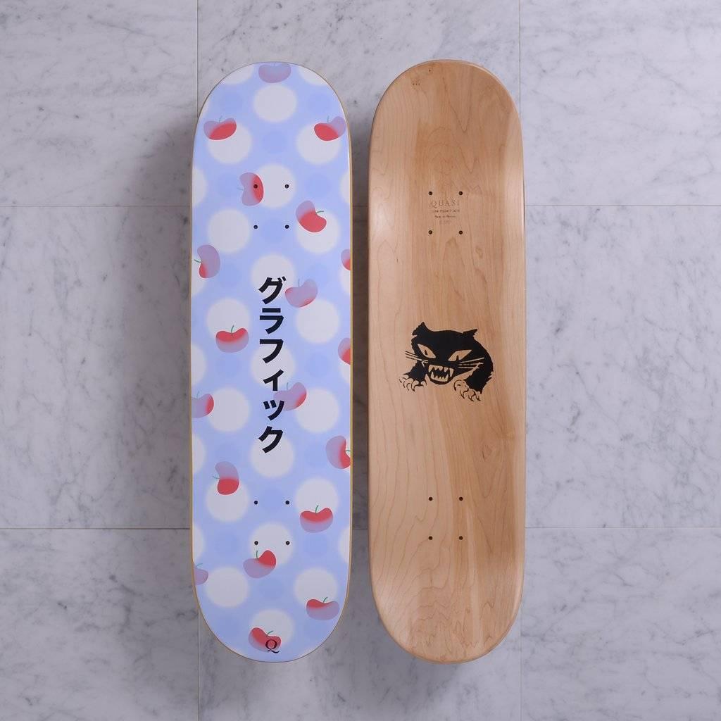 Quasi Skateboards Graphic (Lavender) 8.375
