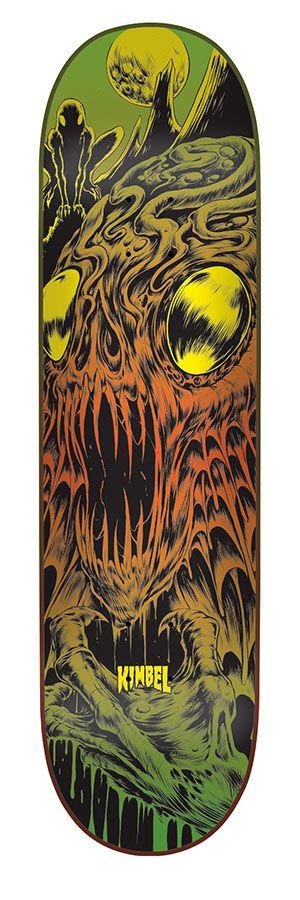 "Creature Skateboards Kimbel Deep One 9.0"""