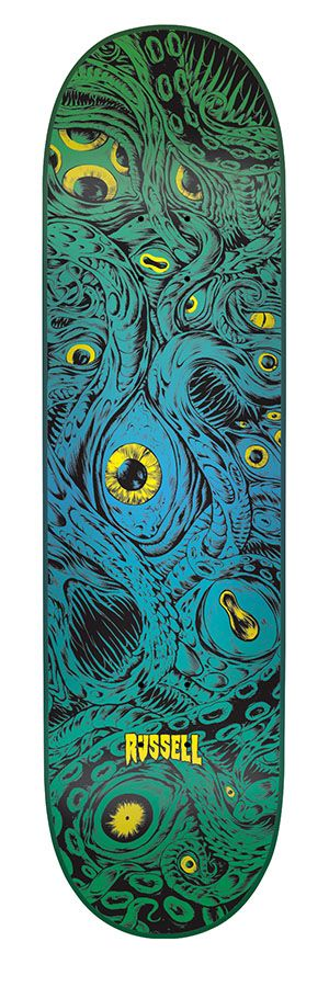 """Creature Skateboards Russell Azahoth 8.6"""""""