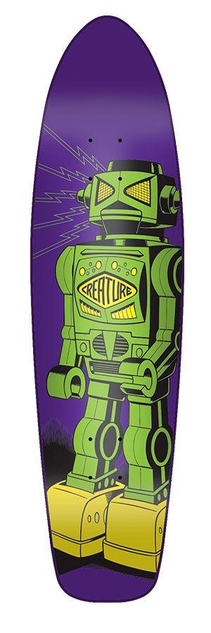 "Creature Skateboards Kustom Robot 7.4"""