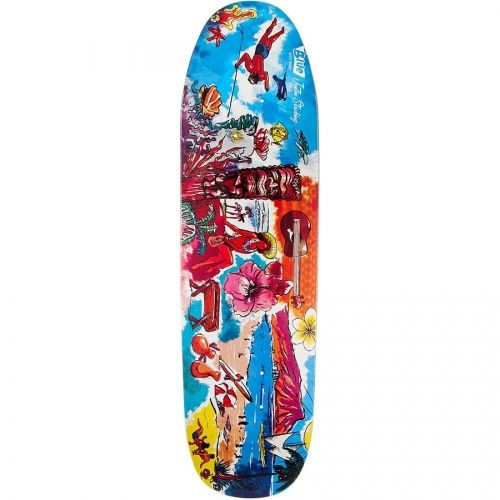 Blue Skateboards Aloha Tiki Justin Strubing Guest 8.63