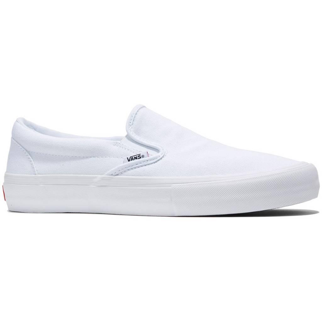 Vans Shoes Slip On Pro White/White