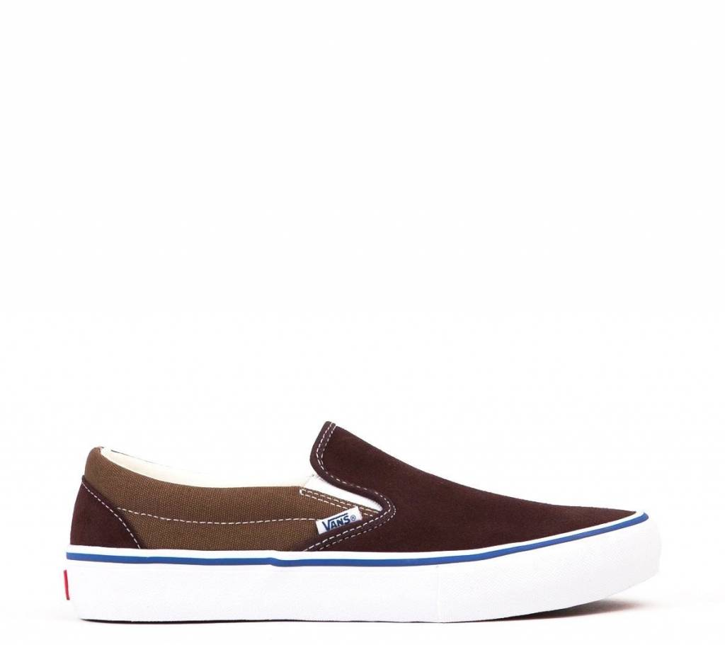 Vans Shoes Slip On Pro Two Tone Coffee