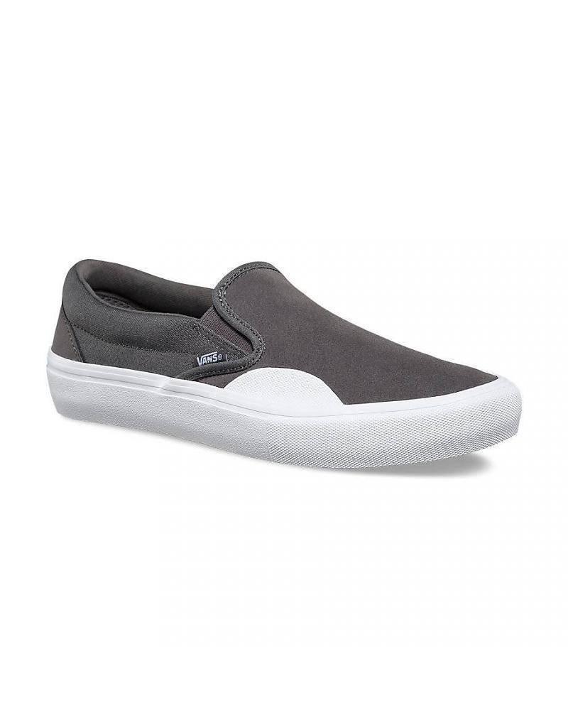 Vans Shoes Slip On Pro Pewter/Rubber