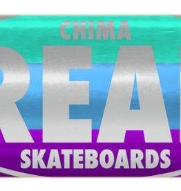 "Real Skateboards Shine Oval Chima 8.06"""