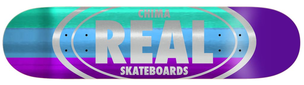 Real Skateboards Shine Oval Chima 8.06""