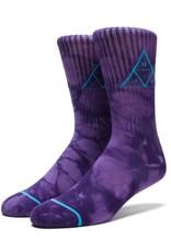 HUF Triple Tie Dye Crew Sock