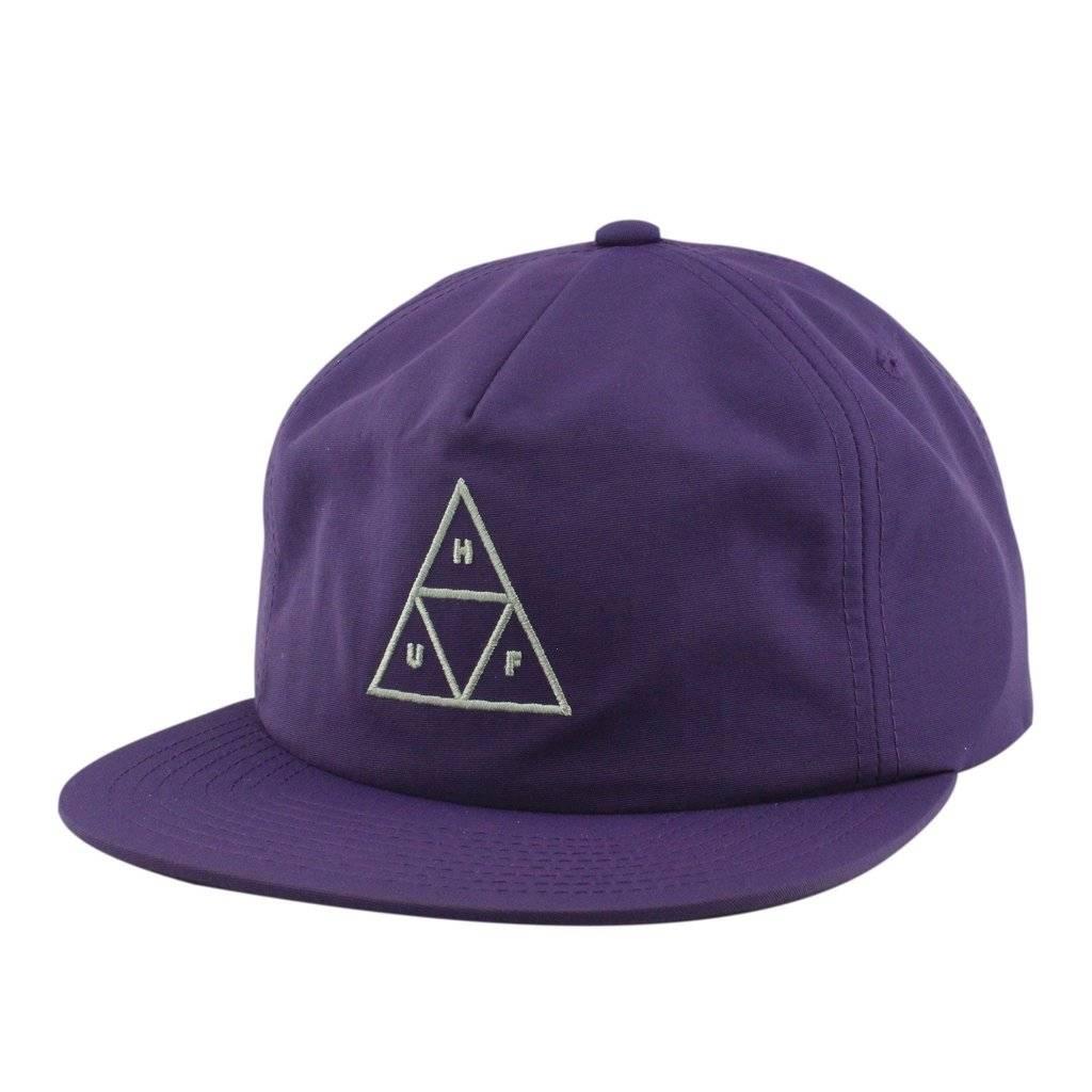 HUF Triple Triangle Snapback Purple