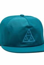 HUF Triple Triangle Snapback Crystal Blue