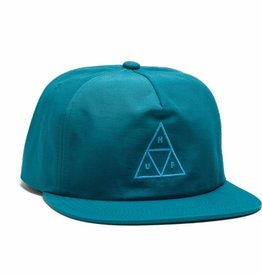 HUF Triple Triangle Snapback Crystal Blue