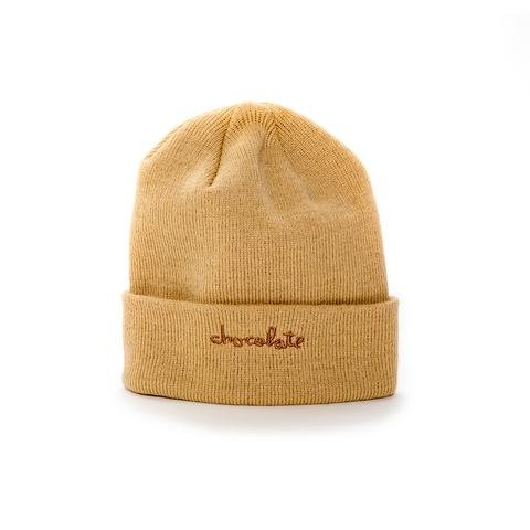 Chocolate Skateboards Chocolate Chunk Fold Beanie Khaki