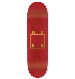 WKND Gold Logo Red 7.75""