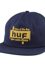 HUF Voice Trucker Hat Navy