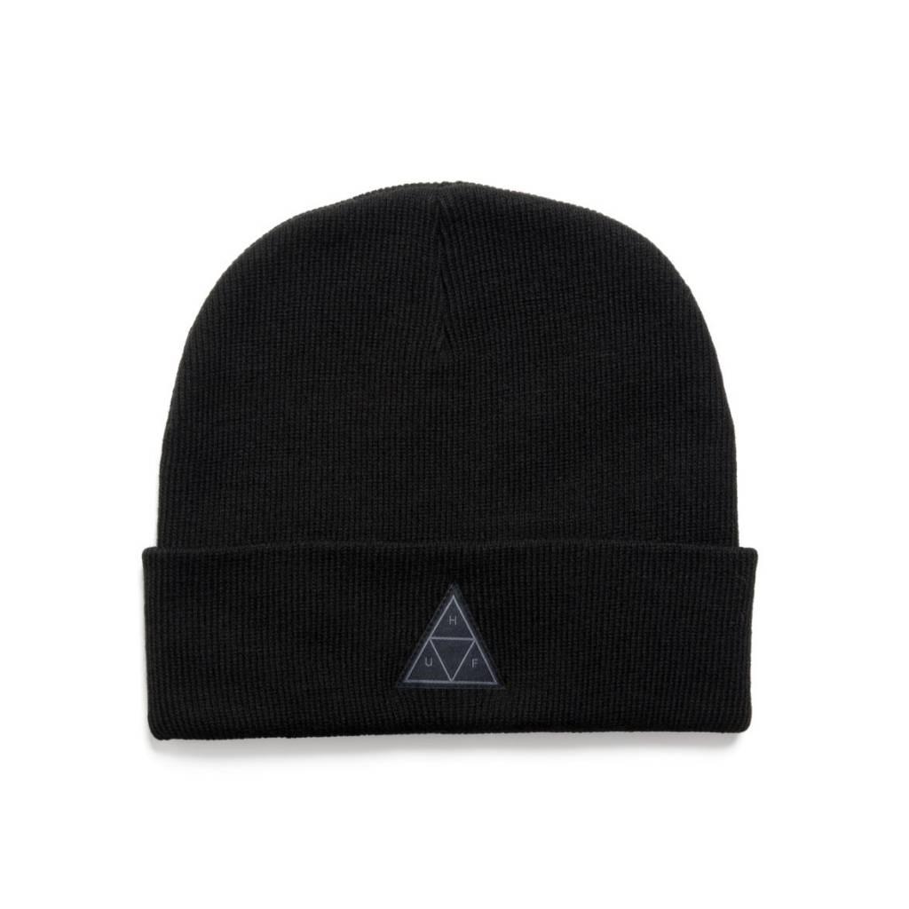 HUF Triple Triangle Beanie Black