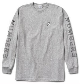 Numbers Edition Outline Wordmark Prem. L/S