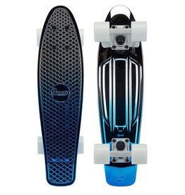 Penny Skateboards Penny Complete Blue Silver Fade 22""