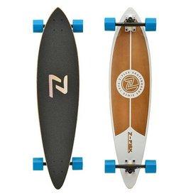 """Z Flex Z Flex Pintail Longboards 38"""" White"""