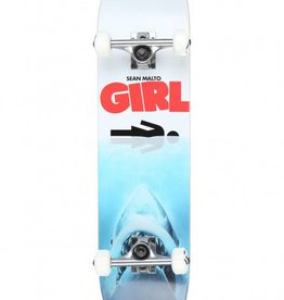 Girl Skateboard Company Malto Shark Attack Complete 7.625""
