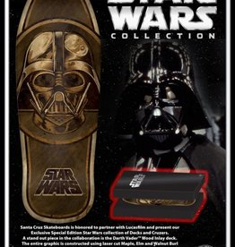 Santa Cruz Skateboards Darth Vader Inlay Collectable Deck