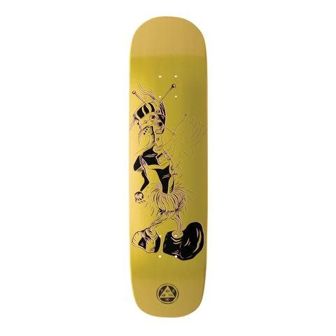 Welcome Skateboards Effigy on Yung Nibiru Gold 8.25""