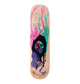 Welcome Skateboards Here it Comes on Amulet Natural 8.125""