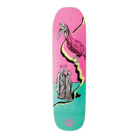 """Welcome Skateboards Inferno on Stonecipher Pink/Teal 8.6"""""""