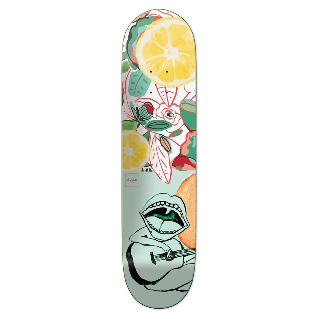 "Chocolate Skateboards Tropicalia Hsu 8.0"""