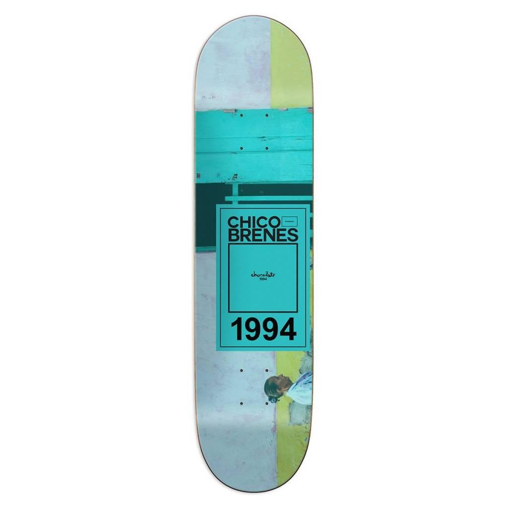 "Chocolate Skateboards Inaugural Year Brenes 8.375"""