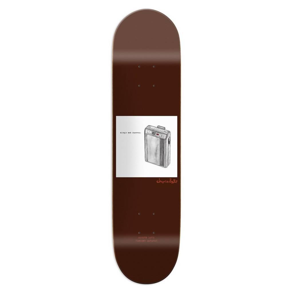 "Chocolate Skateboards Modern Love Alvarez 8.25"""