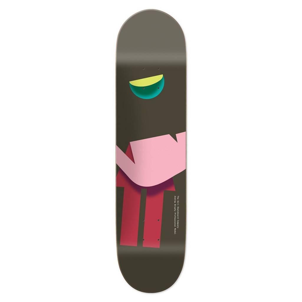 """Girl Skateboard Company Folded OG Brophy 8.0"""""""