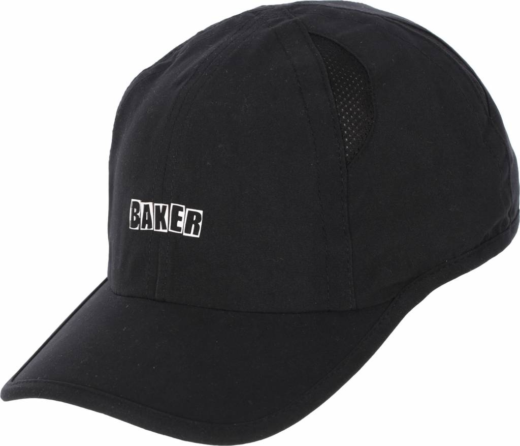 Baker Skateboards Mini Arch Black Performance Cap
