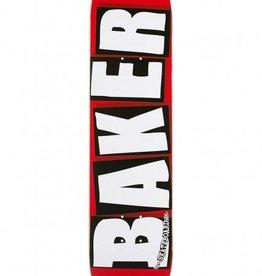"""Baker Skateboards Brand Logo White Mini 7.3"""""""