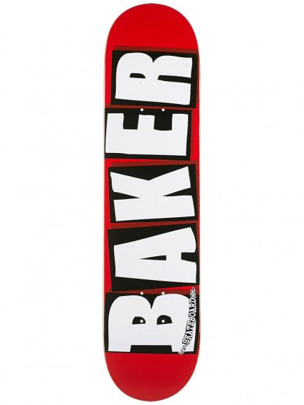 Baker Skateboards Brand Logo White Mini 7.3""