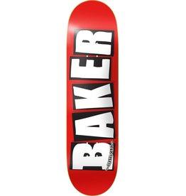 """Baker Skateboards Brand Logo White 7.56"""""""