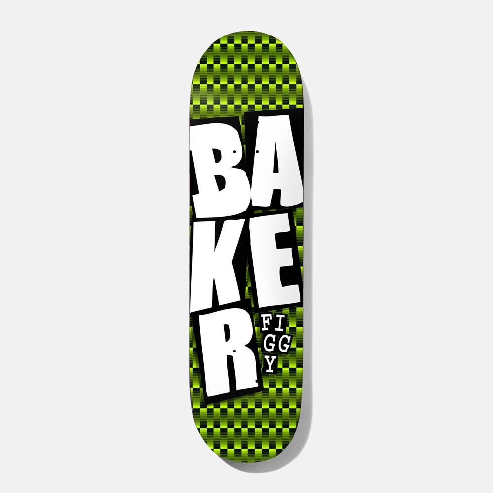 """Deathwish Skateboards JF Stacked Green Checkers 7.75"""""""