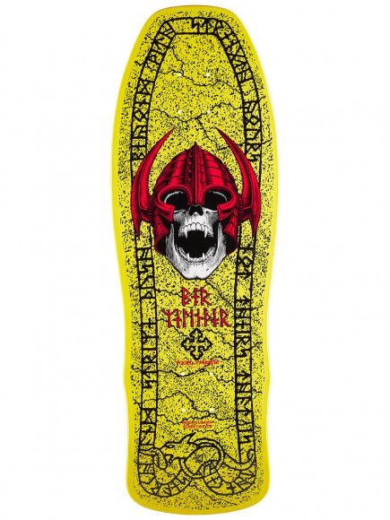 Powell Peralta Welinder Classic Yellow 9.625