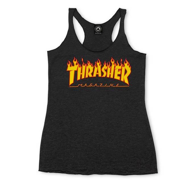 Thrasher Mag. Flame Logo Racerback
