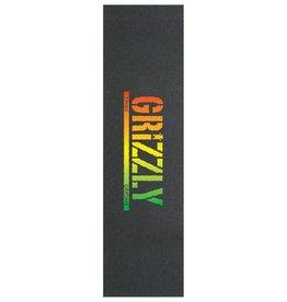 Grizzly Griptape T-Puds Rasta Stamp Griptape