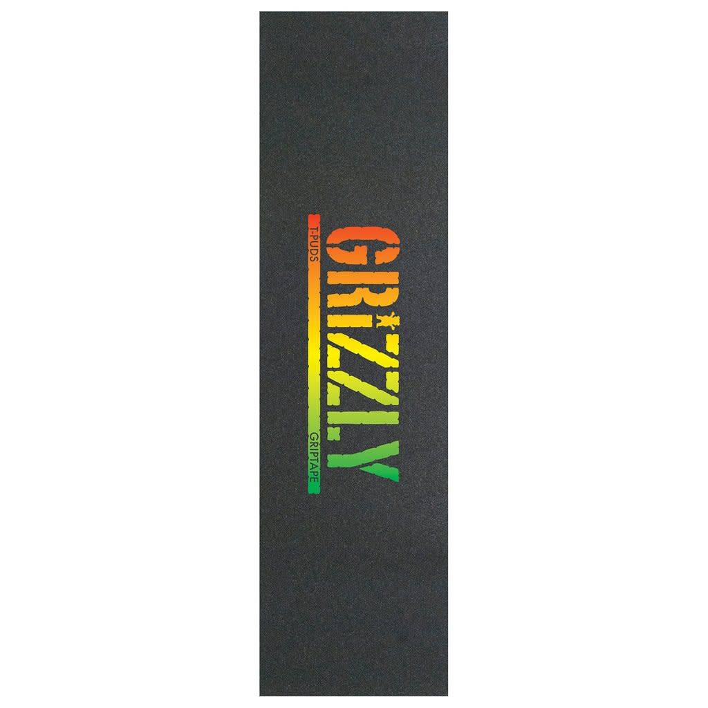 Grizzly Griptape T-Puds Rasta Stamp Griptape