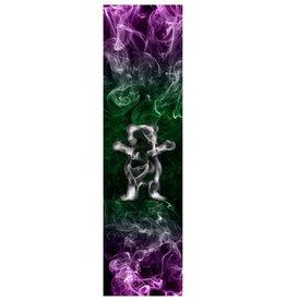 Grizzly Griptape Smoke Bear Green/Purple Griptape