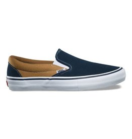 Vans Shoes Slip On Pro Dress Blue/Gold